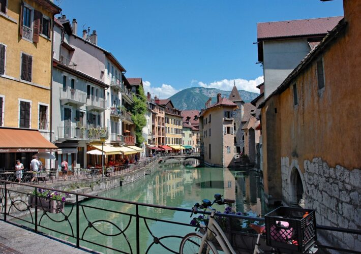 ANNECY, THE VENICE OF ALPS